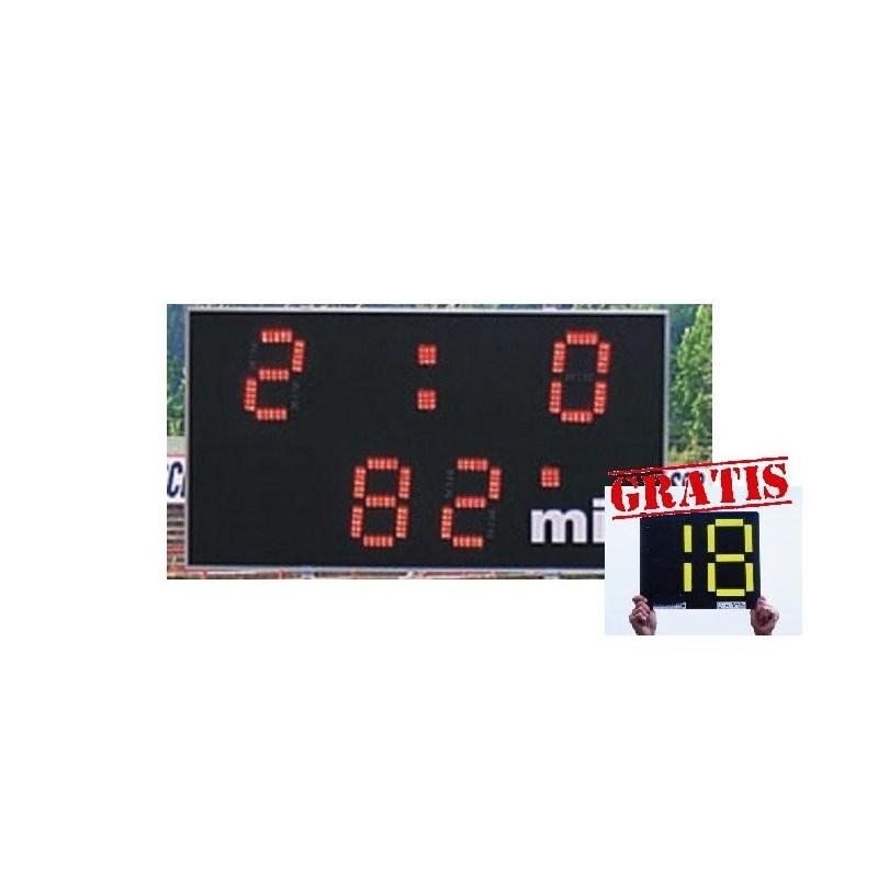 Ukazovateľ času a skóre ERC Football Derby